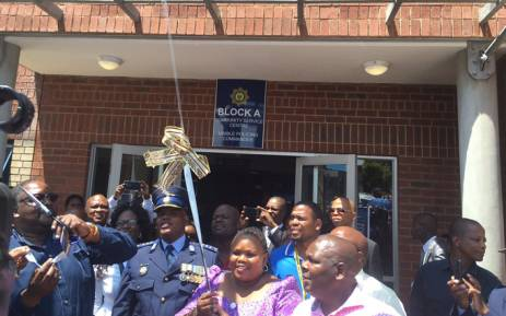 The highly-anticipated new police station in Diepsloot has finally opened after years of delays on 19 February 2016. Picture: Mia Lindeque/EWN.