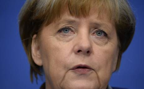 FILE: German Chancellor Angela Merkel. Picture: AFP.