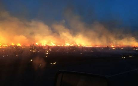 Barkely East region fires. Picture: Supplied.