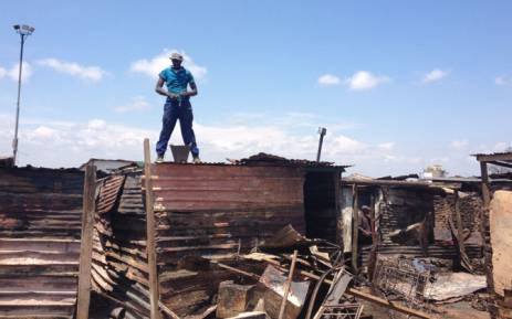 FILE: Hundreds of residents from the Slovo Park were left homeless after the fire razed 400 shacks to the ground. Picture: Emily Corke/EWN.