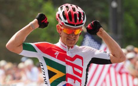 South African cyclist, Burry Stander, who died after being knocked over by a taxi. Picture: Facebook.