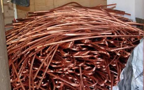 Stolen copper cables. Picture: Saps.