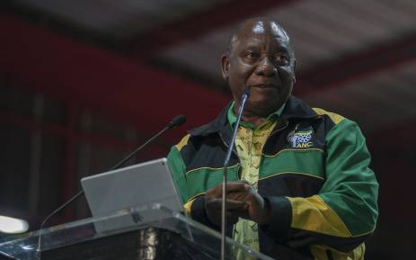 FILE: New ANC president Cyril Ramaphosa addressing the ANC's 2017 national conference. Picture: Ihsaan Haffejee/EWN