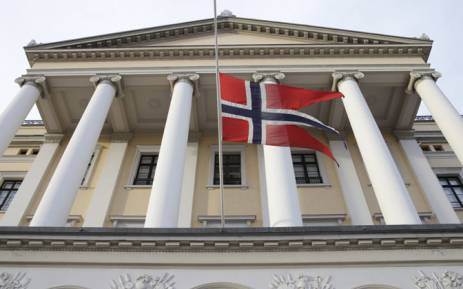 FILE: The Norwegian flag. Picture: AFP.