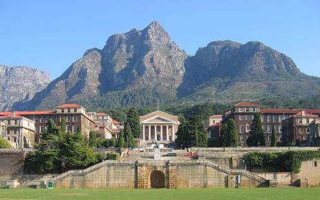 FILE: The University of Cape Town. Picture: Supplied.