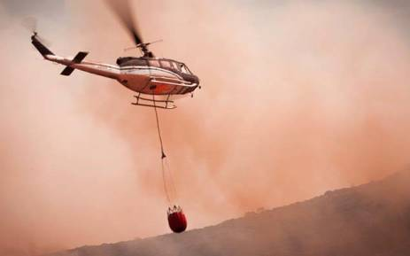 FILE: The blaze has since forced some farmers and workers to evacuate their properties. Picture:DreamImages/EWN.