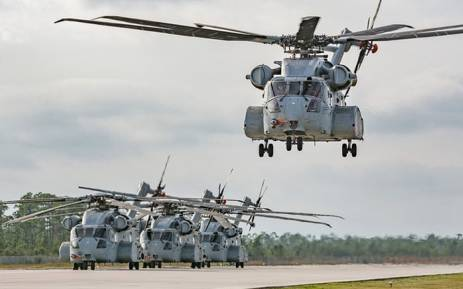 A Sikorsky CH-53E Super Stallion. Picture: Lockheed Martin/Flickr