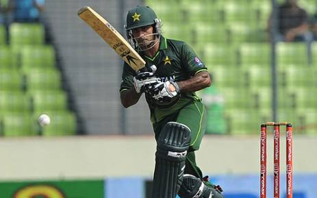 Pakistani cricketer Mohammad Hafeez. Picture: AFP