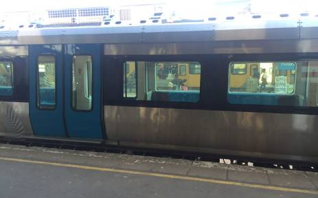 FILE: A new fleet of Metrorail trains has been unveiled at Pretoria station. Picture: EWN.