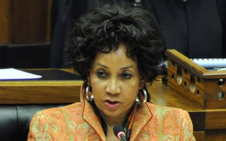 The ANC's Lindiwe Sisulu. Picture: GCIS.