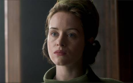 Claire Foy as a young Queen Elizabeth in The Crown. Picture: Netflix