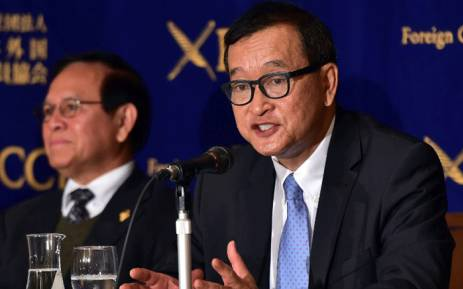 Former Cambodia opposition leader Rainsy sued over Facebook post
