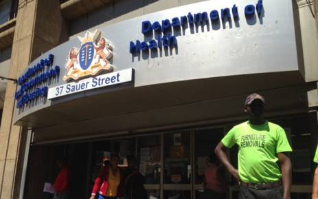 FILE: The offices of Gauteng Department of Health. Picture: EWN
