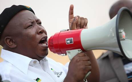 Axed ANCYL president Julius Malema. Picture: Taurau Maduna/EWN.