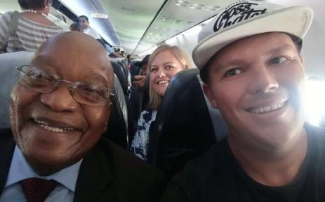 Zuma's son believes his father is persecuted