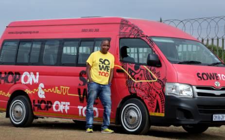 Kgomotso Pooe is an entrepreneur who, through his dynamic Soweto Tours, hopes to change the way people experience the township. Picrture: Sebabatso Mosamo/EWN