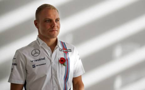 Formula One driver Valtteri Bottas during his time with the Williams Martini Racing team. Picture: AFP