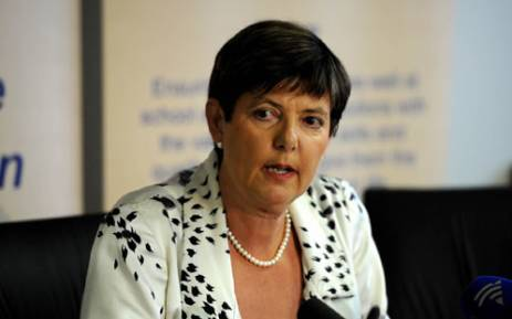 Gauteng MEC for Education Barbara Creecy. Picture: Sapa.