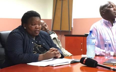Gauteng Community Safety MEC Sizakele Nkosi-Malobane. Picture: Hitekani Magwedze/EWN.