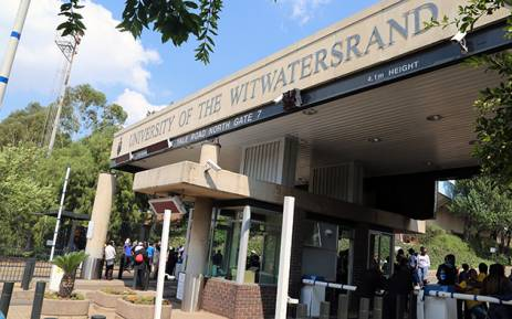 FILE: An entrance to the main campus of the University of the Witwatersrand in Johannesburg. Picture: Reinart Toerien/EWN.