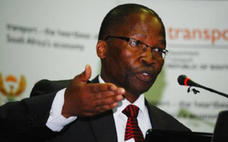 Former Transport Minister Sibusiso Ndebele. Picture: Supplied.