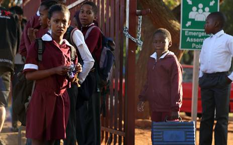 FILE: Attendance figures have increased with more than 900 out of more than 1,000 pupils now back at school. Picture: Reinart Toerien/EWN