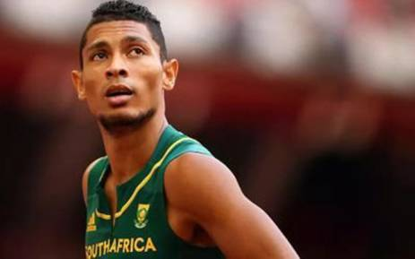 South African sprinter and world 400 metre champion, Wayde van Niekerk. Picture: @WaydeDreamer via Twitter.