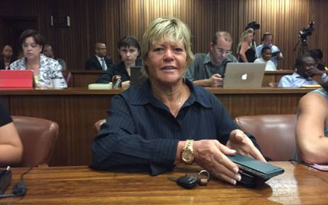 DA MP Glynnis Breytenbach attended court proceedings for the Spy Tape saga on 1 March 2016. Picture: Vumani Mkhize/EWN
