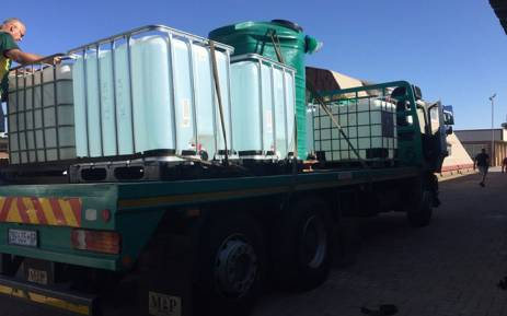 As residents from Senekal in the Free State battle the worst drought in years, a humanitarian organisation has distributed more than a hundred thousand litres of water to the community. Picture: Operation Hydrate Initiative SA/Facebook