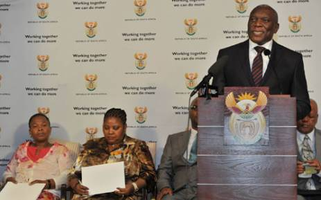 State Security Minister Siyabonga Cwele has called on those opposed to POSIB not to fear the bill.