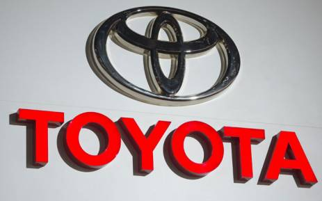 The logo for Toyota is seen during the 2017 North American International Auto Show in Detroit, Michigan 9 January 9, 2017. Picture: AFP.
