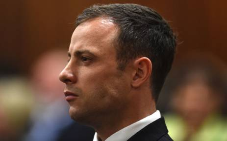 FILE: Oscar Pistorius listens to judgment being handed down in his murder trial at the High Court in Pretoria on 11 September 2014. Picture: Pool.