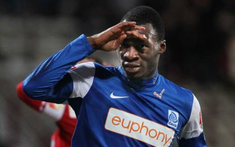 Aston Villa's Christian Benteke. Picture: AFP.