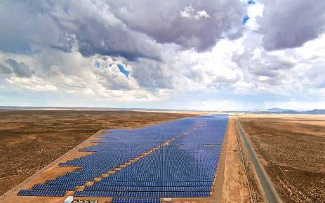 The solar power plant in De Aar. Picture: deaarsolar.co.za.