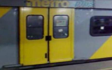 A Metrorail train. Picture: EWN.