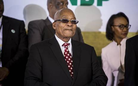 President Jacob Zuma addressed hundreds at the Tshing sports ground in Ventersdorp to mark Youth Day on 16 June 2017. Picture: Reinart Toerien/EWN