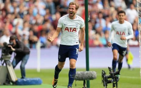 FILE: Tottenham Hotspur's Harry Kane celebrates a goal. Picture: @SpursOfficial/Twitter