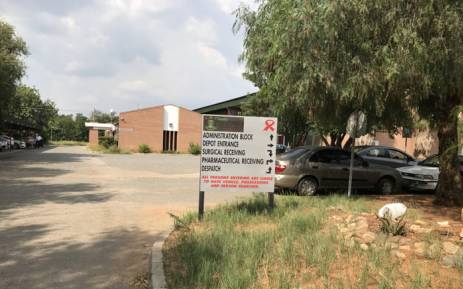 Operations at the North West medical stores have come to a standstill as workers demand better pay and the suspension of HoD Thabo Lekalakala. Picture: Masechaba Sefularo/EWN.