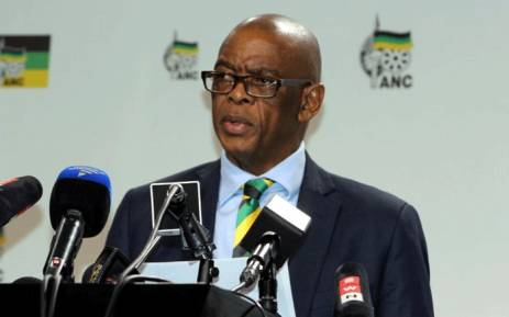 ANC secretary-general Ace Magashule. Picture: @MYANC/Twitter