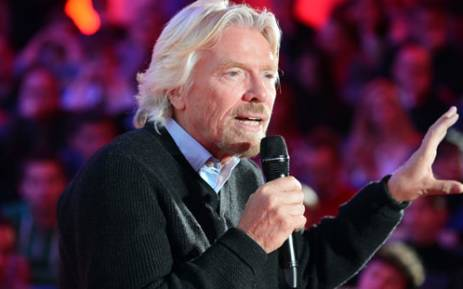 Richard Branson, chairman and founder of Virgin Group. Picture: AFP