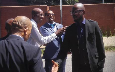 DJ Black Coffee made a short appearance in the Roodepoort Magistrates Court on 5 January 2015. Picture : Kgothatso Mogale/EWN.