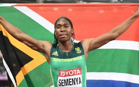 World 800m champion Caster Semenya. Picture: AFP