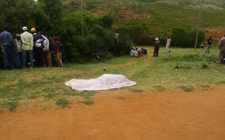 Mourners mistook the officer for a criminal and shot at the detective. Picture: Saps.