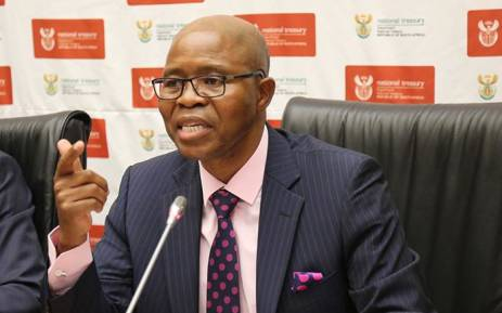 Deputy Finance Minister Sfiso Buthelezi.  Picture: Christa Eybers/EWN.