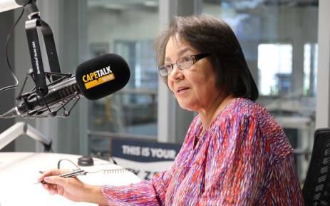 Cape Town Mayor Patricia de Lille. Picture: CapeTalk.