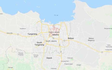 Indonesia landslide on java island kills five over a dozen missing a screengrab showing a general view of jakarta which sits on the northwest coast of the gumiabroncs Images