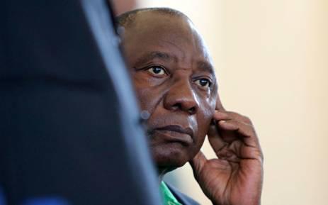 ANC president Cyril Ramaphosa. Picture: Sthembiso Zulu/EWN