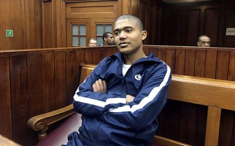 Cameron Wilson in the Western Cape High Court on 24 August 2017. Picture: Shamiela Fisher/EWN