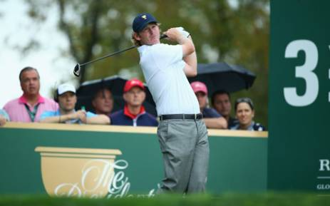 FILE. Brandt Snedeker missed birdie putts from 12 feet on the last two holes and had to settle for a share of the lead with fellow American Zac Blair. Picture: AFP.