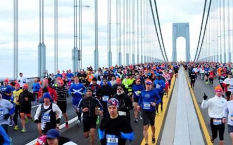 The New York Marathon takes place on Sunday 5 November 2017. Picture: tcsnycmarathon.org